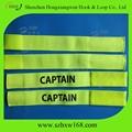 capitão ajustável faixa de braço com clousure velcro
