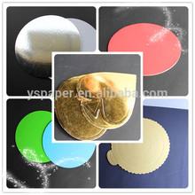 Disposable,eco-friendly,glossy lamination cheap Cake Board