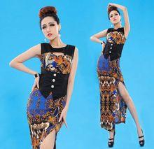 Hfr-t1296 mode gedruckt traditionellen marokkanischen kleid