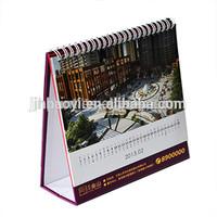 2015 customized professional table calendar wholesale calendar printing