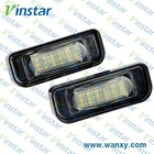 European e-mark approval led number light for Benz W204