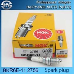 High quality NGK spark plug BKR6E-11 2756