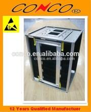 push back pallet rack esd pcb magazine rack manufacturer