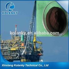 drilling organic lignite dimethyl sulfoxide dissolved