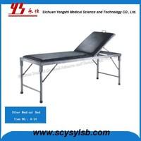 Metal portable Adjustable Frame Medical examination bed for sale
