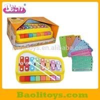 Musical cartoon Xylophone organ for children toys