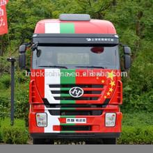 heavy duty genlyon hongyan 6x4 340hp tête de camion à vendre