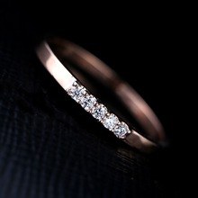 Size6/7/8 compact design 18k rose gold filled alloy yiwu jewelry new design gold finger ring high quality wholesale price