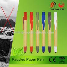2015 eco friendly biodegradable paper pen