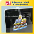 Printing Plastic Supermarket Advertisement dangler Promotional shelf wobbler