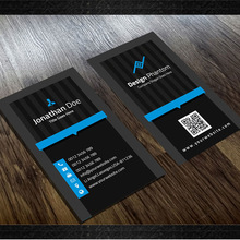 Professional gold foil business cards printing