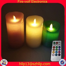 Samoa Western led light gift products cordless candle warmer