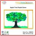 مونتيسوري لعبة اللغز شجرة التفاح