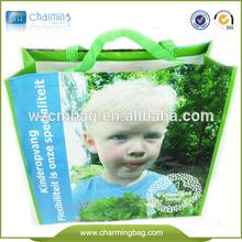 photos printing pp shopping bag,woven shopping bag,pp woven shopping bag