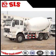 Low price 6*4 Concrete transportation tank truck/concret truck mixer specifications