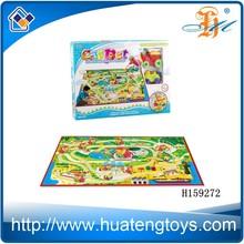 Train Railway design carpet for Baby /Baby play mat/Baby play gym floor mat