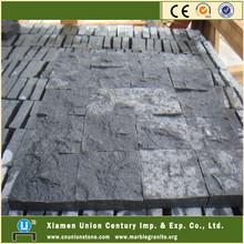 Natural split G684 black basalt