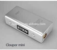 cloupor mini 30w cloupor mini 30watt mod e-cigarette batetry cloupor mini 30w