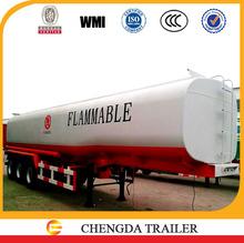 3 axles tanker 42000Liter fuel tanks