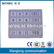 teclados numericos ip67 stainless steel matrix tsa combination lock keypad