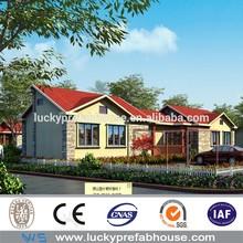 prefabricated villa steel structure prefabricated villa for accommodation