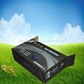 personalizado laminação fosca impressão colorida de papelão ondulado caixa preta