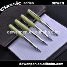 Luxury handmade ball pen, engraved metal pen,fashionable metal pen
