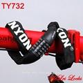 Hl732 alta- calidad de combinación de la cadena de enlace para las cerraduras de la motocicleta y e- bicicleta