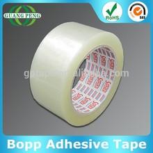 38/40/42/45/48/50mic Custom Logo Clear /Brown Custom Printed Adhesive Bopp Packing Tape For Carton Sealing