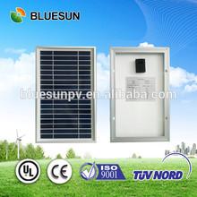 Bluesun high quality DC 5W mini solar panel for led light on sale