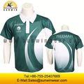 en color liso blanco sin marca de camisas de polo de los hombres para las fábricas de ropa en china