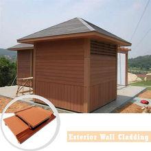 Waterproof outdoor wood plastic composite wall panel