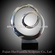 Abstract Metal Decor Statue Handicraft