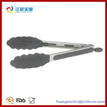 excellent houseware kitchen tool cooking utensil Silicone Spatula food serving Tong