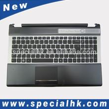 computer standard keyboard with Palmrest&Touchpad For Samsung RF510 RF511 Keyboard BA81-10928A