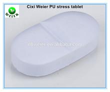8.7x4.6x2.5cm PU toy tablet stress ball/soft toy PU stress tablet for kids&adults/soft gifts PU foam stress tablet