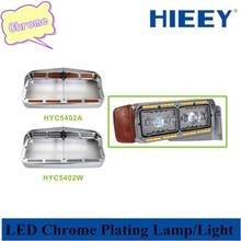 LED headlamp bezels Chrome plating bezels for heavy duty car headlight