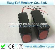 Bluetooth devices, PDA, DVD application li-ion battery 14.8v 6000mah li-ion battery pack