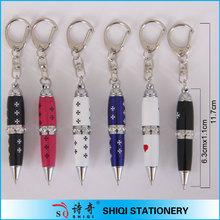 hot sale diamond mini metal ball pen