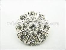 wholesale unique fancy round button,rhinestone button covers
