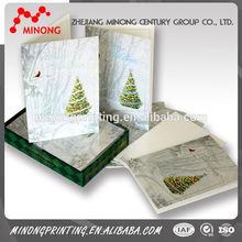 2015 Latest popular good quality 3d laser cutting greeting card