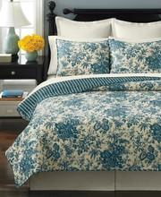 Turkish Wedding Bedspread Quilt and Curtain Set Luxury