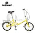 Moda 16'' bicicletas plegables para las señoras