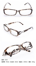 Classic shape eye glasses; stylish glasses frame for men