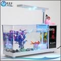 Alb-002 de alta calidad mini usb de escritorio acuario/tanque de los pescados