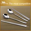 nuevos elementos de acero inoxidable cuchara de corea