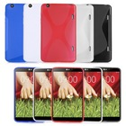 X-LINE TRANSLUCENT CLEAR TPU GEL CASE BACK COVER FOR LG G Pad 8.3 V500 WITH SCREEN PROTECTOR