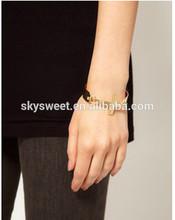 14k reale Matt bracciale in oro, vendita nuovo gioielli croce braccialetto
