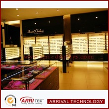 eyewear store decoration sunglass display kiosk