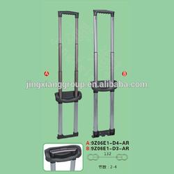 2015 New fashion luggage trolley handle parts bag handle parts made by jingxiang